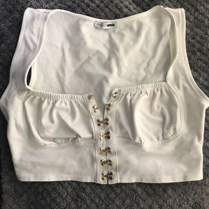 Fashion nova corset crop top